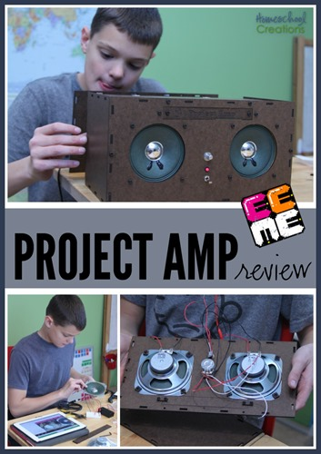 Project Amp from EEME - build a working amplifier and learn how it works  Homeschool Creations copy