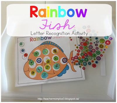Rainbow Fish Letter Recognition