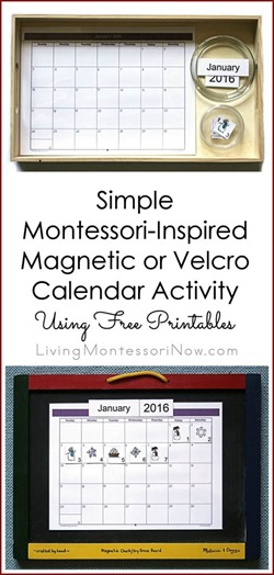 Simple-Magnetic-or-Velcro-Calendar-Activity-Using-Free-Printables