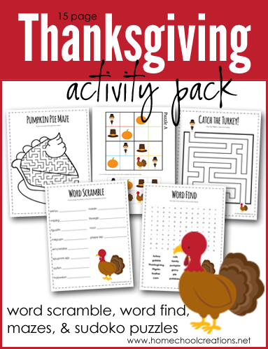 photograph about Free Printable Thanksgiving Games for Adults called Thanksgiving Game Pack - Cost-free Printables