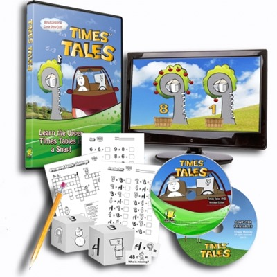Times Tales animated math