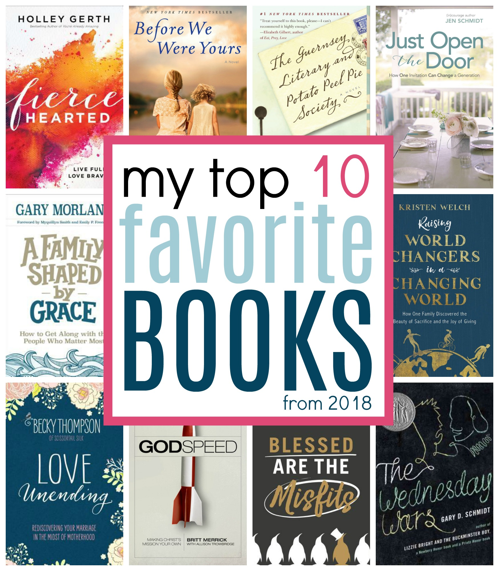 My Top 10 Favorite Books From 2018