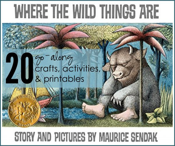 20 Activities, Crafts, and Printables for Where the Wild Things Are