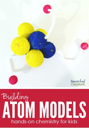 Building atom models is a fun way for children to get a hands-on look at chemistry. Only a few items are needed to create a 3D example of an atom.