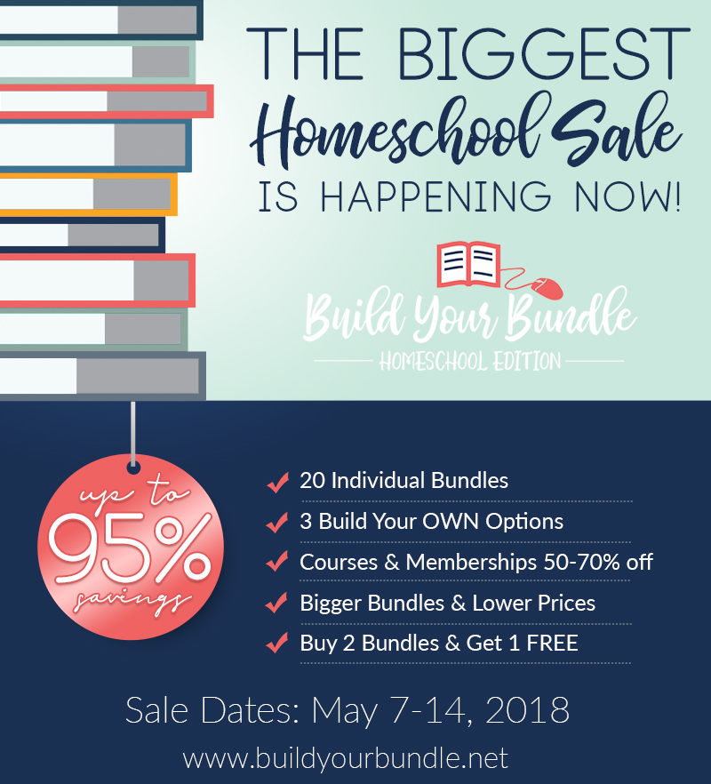 My Favorite Homeschool Sale Of The Year 8 Days Only