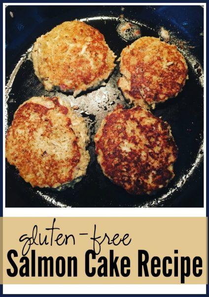 gluten free salmon cake recipe