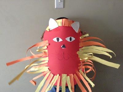 kenya mask craft for kids