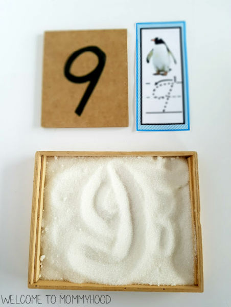 penguin salt tray cards