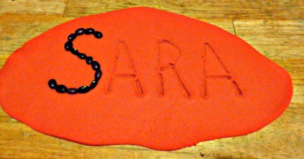 play-dough-letters-written