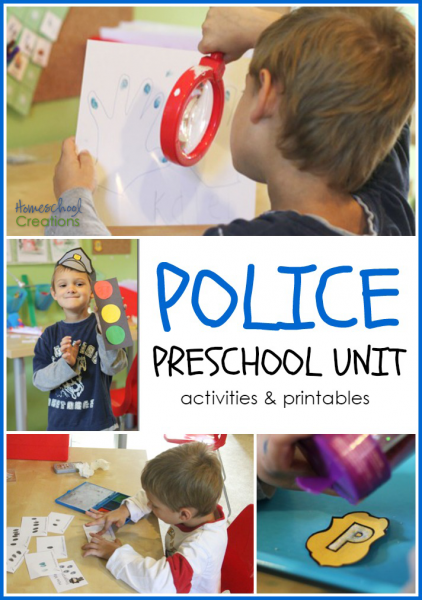 Police Crafts For Preschool