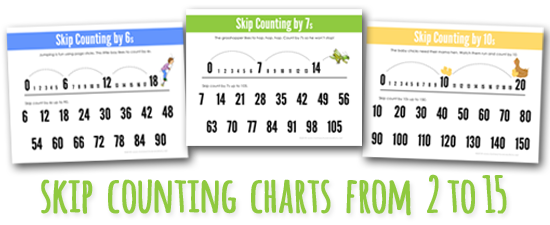 image regarding Number Charts Printable known as Overlook Counting Charts towards 2 during 15 Printable (Current)