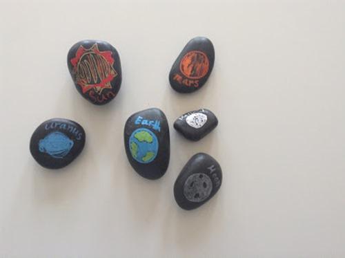 solar system rocks