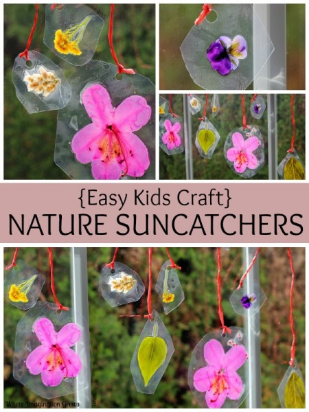 spring-crafts-for-kids-nature-suncatcher-flowers-leaves