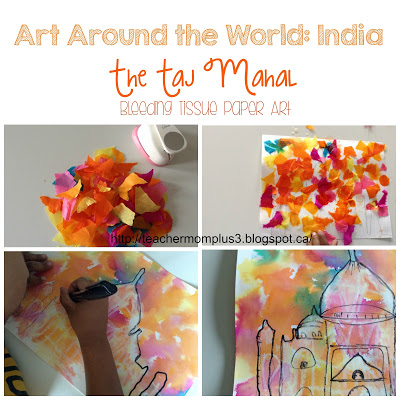 taj mahal art project