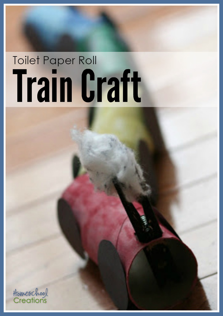 How To Make A Toilet Paper Roll Train
