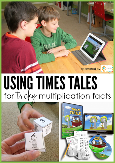 using Times Tales to learn multiplication facts