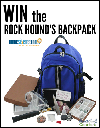 win the Rock Hounds Backpack
